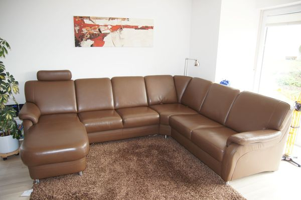 Hochwertige Eck Ledercouch In Pentling Polster Sessel Couch