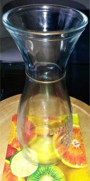 Antikes Glas Erraffe 26 cm