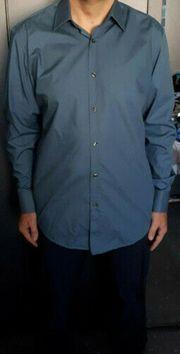 Hugo Boss Hemd Felix blaugrau