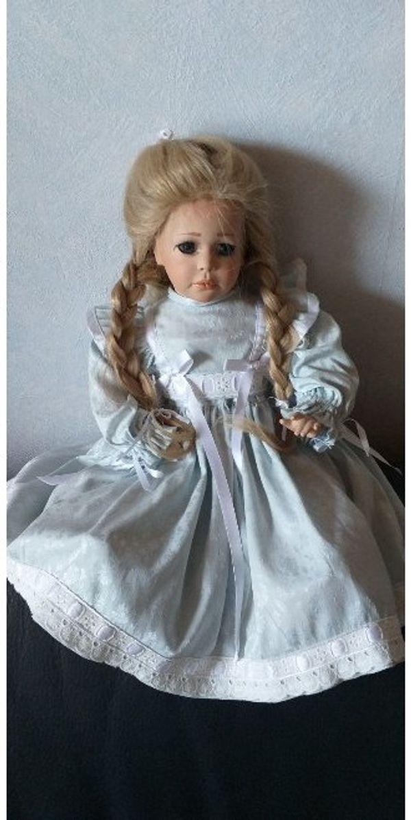 Puppe Porzellan Handarbeit