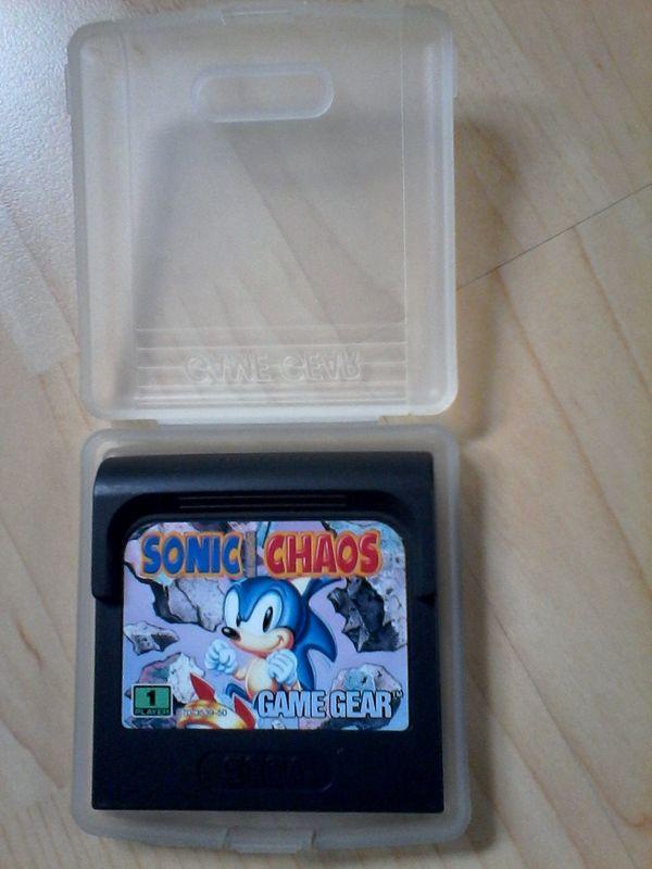 Sega Game Gear Spiel SONIC