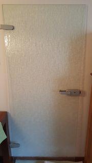 Zimmertür aus Glas