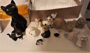 Tierfiguren aus Porzellan