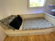 HEMNES Tagesbettgestell mit 3 Schubladen