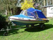 Wiking-Schlauchboot Orion mit Cabrio-Verdeck mit