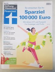 Stiftung Warentest Finanztest Ausgabe Mai