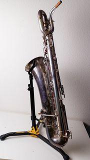 Bariton Sax Saxophon Buescher True
