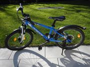 cooles blaues Kinder Mountainbike MTB