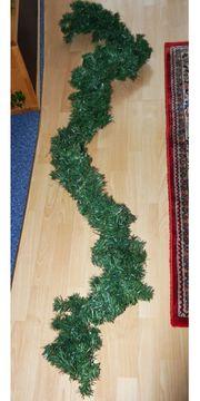 Weihnachtsgirlande Tannengirlande Weihnachtsdeko 230 cm