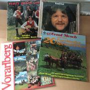LPs Langspielplatten - Volksmusik - sehr guter
