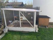 Außengehege Freilaufgehege für Kaninchen Meerschweinchen