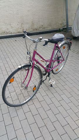 RaBeneick pinkes Damenfahrrad 28 Zoll: Kleinanzeigen aus Karlsruhe Mühlburg - Rubrik Damen-Fahrräder
