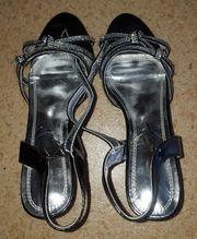 getragene High heels