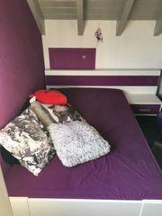 Mädchen Bett Röhr Farbe Lila