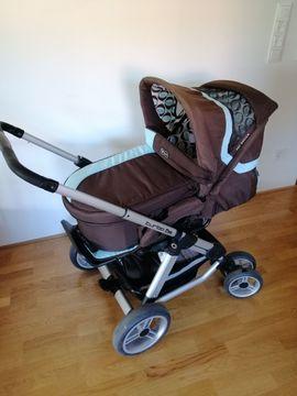 ABC Design Turbo 6S Kinderwagen und Maxi-Cosi CabrioFix Babyschale