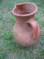 Amphore 40 cm aus Terracotta