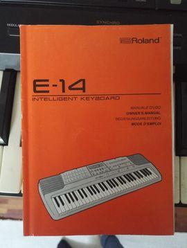 Bild 4 - Keyboard Roland E-14 Intelligent Keyboard - Frastanz