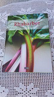 Neuwertiges modernes Kochbuch Rhabarber