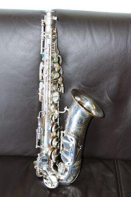 Bild 4 - Beaugnier Alt Saxophon 1955 versilbert - Berlin Friedrichshain