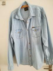 Jeans Hemd Wrangler XXL