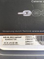 Neue Original Audi Schneeketten