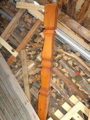 Holzpfeiler