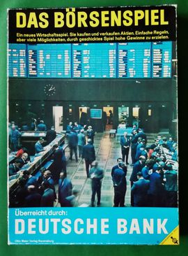 Das Börsenspiel von 1968 als: Kleinanzeigen aus Hamburg - Rubrik Gesellschaftsspiele