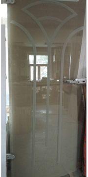 Türblatt Glas mit Zarge