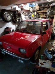 Oldtimer- Fiat 133 und mehr
