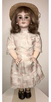 Antike Automaten-Puppe um 1895 Original