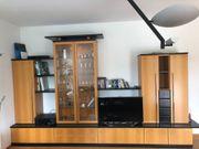 Wohnwand Tischlerarbeit günstig abzugeben