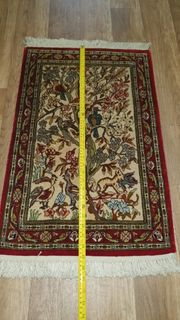 seiden Teppich