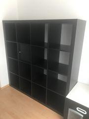 IKEA Kallax Bücherregal mit Einsatz