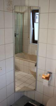Platzsparender 3-eckiger Badezimmer Hochschrank mit