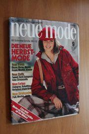 zeitschrift neue mode 9 1978