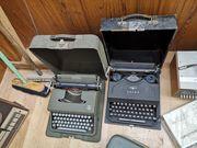Alte Hifi Geräte und Schreibmaschinen