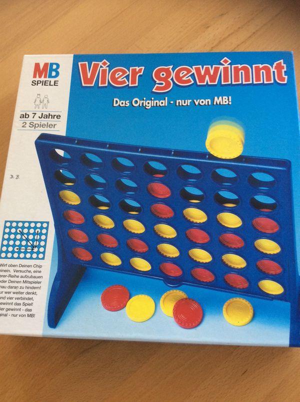 MB Spiele Vier gewinnt - Graben-neudorf - Das Original für 2 Spieler, kpl. und guter Zustand. - Graben-neudorf