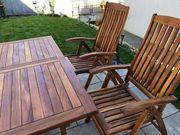 Teak Holz Gartengarnitur