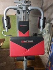 Kraftstation Fitnessstation mit Gewichten absolut