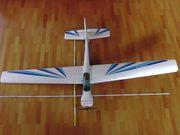 Modellflugzeug Ranger mit robbe Fernsteuerung