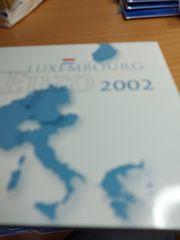 Kursmünzensatz Luxemburg 2002 im Stabilen