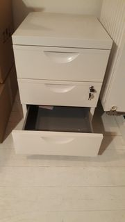 IKEA ERIK Rollcontainer mit 3