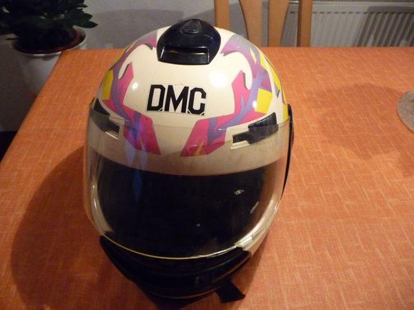 DCM Helm Motorradhelm Vollvisierhelm