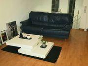 Petrol Leder Couch