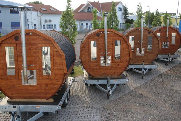 Mobile Sauna - Mieten - Verleih - Saunafass - Fass-Sauna