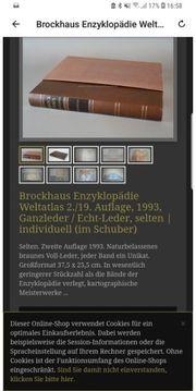Rarität Brockhaus Enzyklopädie Weltatlas -Unikat