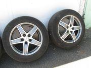 Alufelgen mit Sommer Reifen für