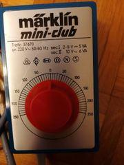 Märklin mini-club Trafo 37670