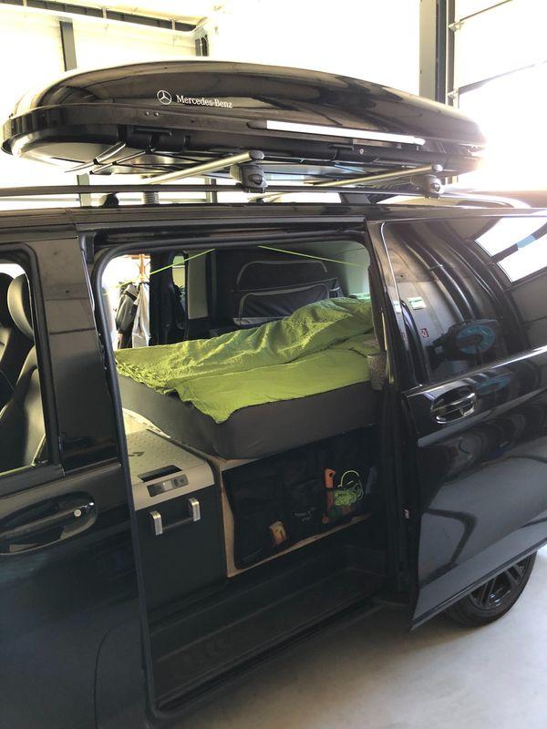 Bett für Campingbus