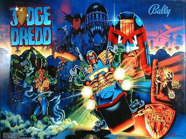 Flipper Judge Dredd gesucht